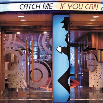 Entrance to Catch me if you can
