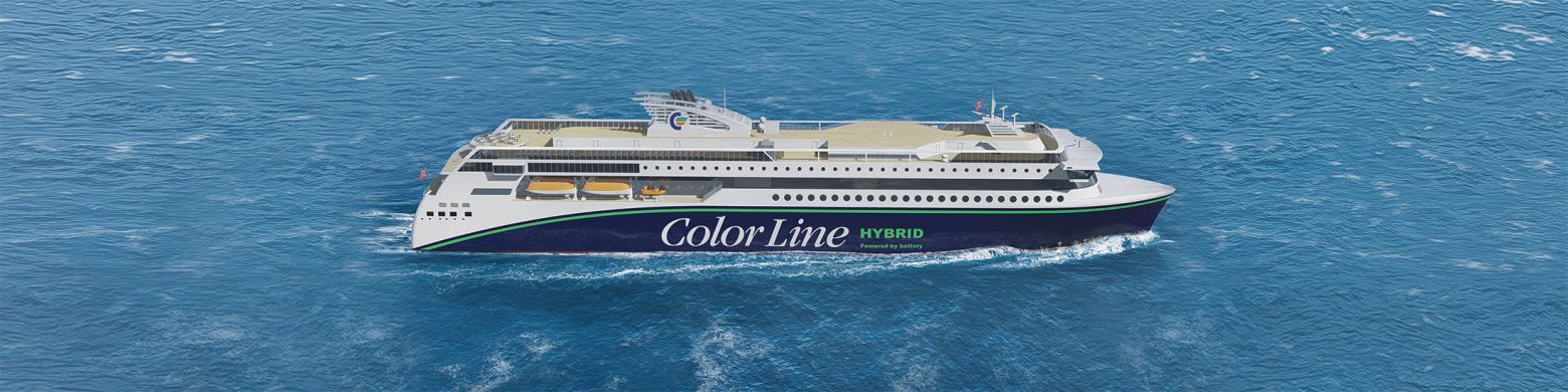 World's largest plug-in hybrid ship by Color Line